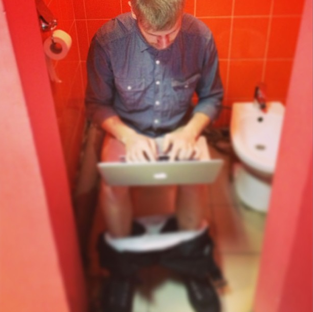 Во сне сидеть в туалете