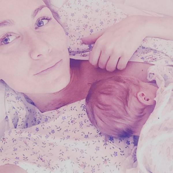 Катя Гордон родила 2-го сына